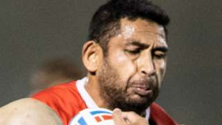 Sebastine Ikahihifo started on the bench for Salford in their 17-16 Challenge Cup final defeat by Leeds in 2020