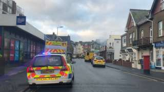 Harbour Road in Seaton, Devon,