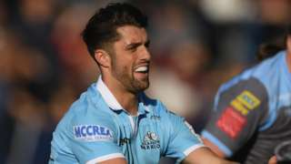 Glasgow fly-half Adam Hastings