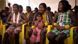 Índias kayapó