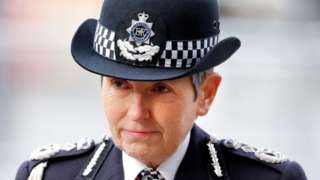 Metropolitan Police commissioner Dame Cressida Dick