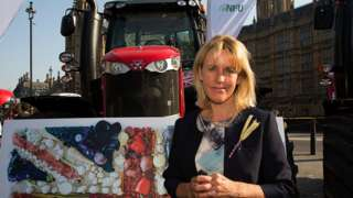 Minette Batters, president of the National Farmers Union