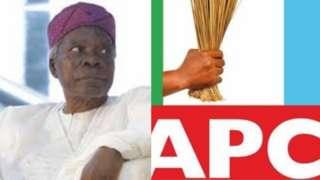 Alagba Banji Akitoye ati ami idamọ ẹgbẹ APC