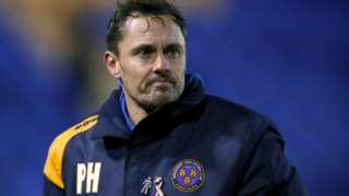 Paul Hurst's Shrewsbury Town have won 20 of his 44 matches in charge since he was appointed on 23 October 2016