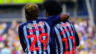 West Bromwich Albion's two star loan players Grady Diangana and Matheus Pereira have both scored four times and share 12 assists between them