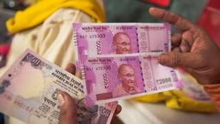 2000 रुपयांची नोट, नोटबंदी