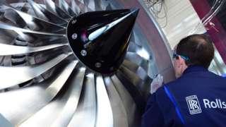 Rolls-Royce employee