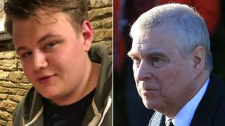 Harry Dunn and Prince Andrew
