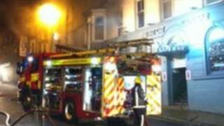 Fire at the Fat Cat