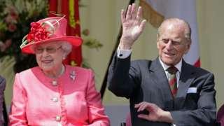 The Duke of Edinburgh visiting RAF Cosford