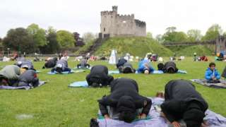 Eid event at Cardiff Castle