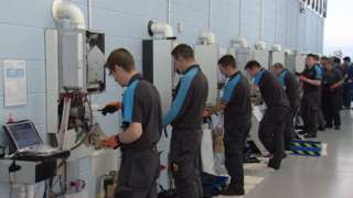 Scottish Gas training academy