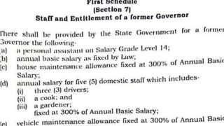 Enugu Pension for life bill: Iwe ndị mmadụ maka 'pension for life bill' ndị gọvanọ Enugu steeti bụ...