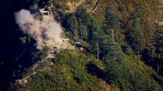 भारत-पाकिस्तान सीमा पर गोलीबारी