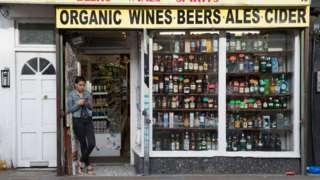 Alkol süpermarket İngiltere