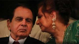 دلیپ کمار اور سائرہ بانو