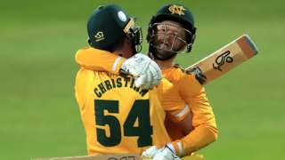 Notts Outlaws beat Surrey in the 2020 final