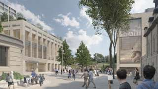 Proposed new theatre development in Tunbridge Wells
