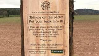 Shovel signs