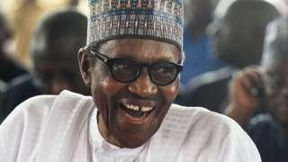 Muhammadu Buhari, Nigeria's president - October 2018