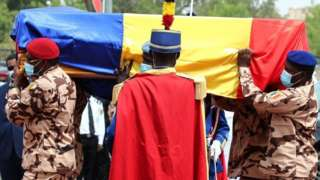 """""""Idriss Déby Itno funeral pictures"""": Chad President burial"""