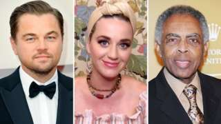 Composite picture of Leonardo DiCaprio, Katy Perry and Gilberto Gil