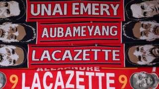 Arsenal scarves