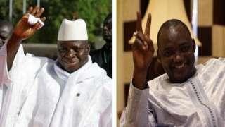 L'APRC, le parti de Jammeh soutient le camp Barrow pour le rejet du projet de loi