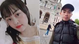 Imiryango ya Pham Thi Tra My (ibumoso) na Nguyen Dinh Luong (iburyo) ihangayikishijwe nuko na bo bashobora kuba bari muri abo bapfuye