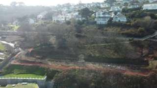 Carbis Bay seafront area cleared