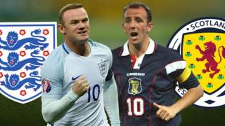 Pick the best combined XI to have played for England and Scotland in the last 30 years