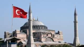 İstanbulda Ayasofya məscidi