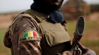 A Malian Armed Forces (FAMa) soldier