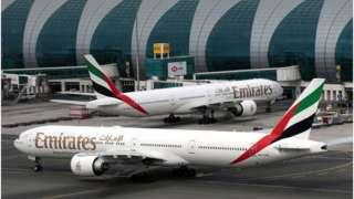 Emirates planes