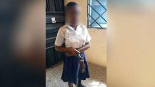 Cross River State news: Girl cari gun go to shoot teacher