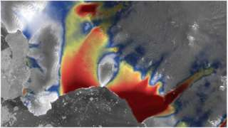Satellites such as Europe's Sentinel-1 mission will monitor the velocity of ice