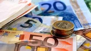 евро, новац