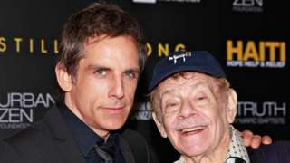 Ben Stiller with father Jerry in 2011