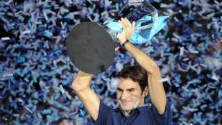 Roger Federer wins 2011 ATP Finals