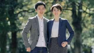 Kotaro Usui and Mari Inoue
