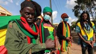 Aba rasta bari muri Rastafari Society of Kenya bavuga ko abarigize babaho mu bwoba