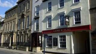 Lamb & Flag pub, Oxford