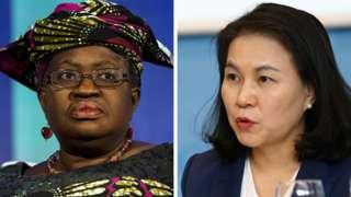 Нгози Оконджо-Ивеала (солдо) жана Ю Мен Хи