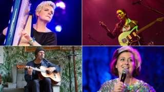 Catrin Finch, Cate Le Bon, Gruff Rhys, Kiri Pritchard-McLean