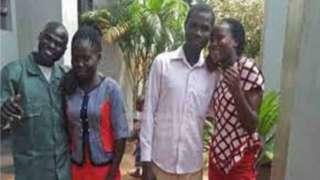 Kenya couple