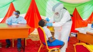 Isekeza ryo gupima corona virus mu Burundi