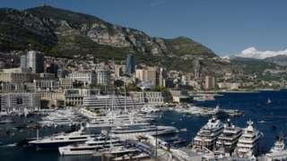 摩洛哥这个超级富豪的游乐场,停泊着许多私人超级游艇(GETTY IMAGES)