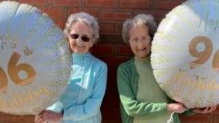 Doris Hobday and Lilian Cox