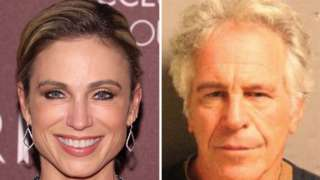 Amy Robach and Jeffrey Epstein