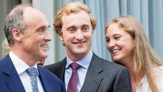 Принц Иоахим Бельгийский (в центре)